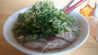 麺や木蓮 - 九条ネギ豚そば!