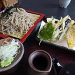 レストラン北斗庵 - 天ざる蕎麦大盛り1000円