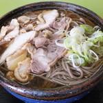 いろは支店 - 冷たい肉そば・大盛 税込¥850
