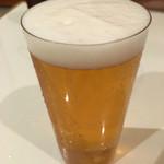 ビヤバタフライ - 2016年4月2日 ビールは大でしょ☆ 仁右衛門の白、だったかな…。