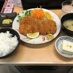 49399657 - ロースカツ定食(1,200円+消費税)