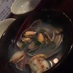 貝と海老そして蟹 -