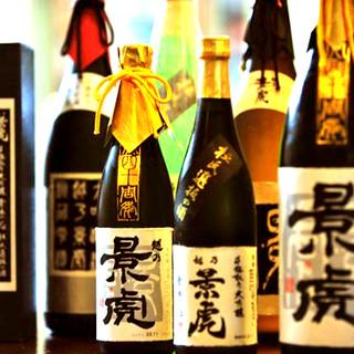 九州地酒はじめ、ドリンクも種類豊富にお取り揃え!