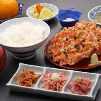 よし川 - 桜えびづくし定食 2,100円