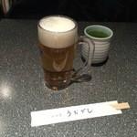 うおがし - 生ビール