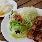 スイートシーズン - 料理写真:エビカツ(日替わりランチ)
