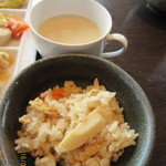 49401599 - タケノコごはん&スープ
