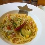 金星パスタ - 桜海老をつかったオイルべース