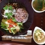 プラナス - はひじきとお豆腐入りヘルシーハンバーグ&五穀米