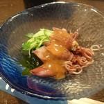 49403164 - ほたるイカ酢味噌(¥450)、美味い!