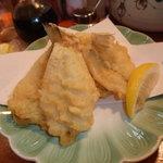オカヤ食堂 - キスの天ぷらです。