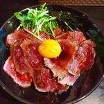 キャメル ダイナー - ローストビーフ丼1.5倍盛り