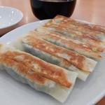 常翔来 - 料理写真:「鉄板餃子~元祖の焼き餃子」