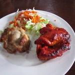 インド&ネパールレストラン WELCOME - アツアツ、ティッカ♪ おいしいよ☆