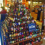 49413888 - 入口のビールタワー♪