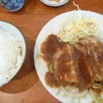 まま屋 - 豚バラ生姜焼き