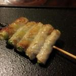 藏 - アスパラ豚肉巻き