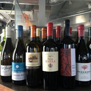 お手頃価格で充実『ワイン』サングリアも大人気!