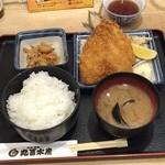 49419803 - あじフライ定食730円