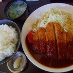 とんかつ ひろ喜 - ロース豚かつ定食760円 ご飯大盛+50円