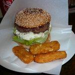 ビッグスマイル - ハンバーガー(トマト抜き、タルタル追加)