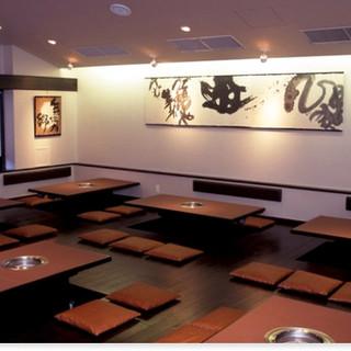 お席は異なった雰囲気の3種類をご用意。