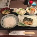 料理とお酒 ちどり - 鯖の定食650円。うますぎるわっ!