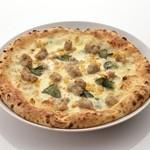 ピッツェリア リアナ - サルシッチャコーンのクリーム
