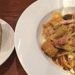 オステリア レガーロ - パスタとパン