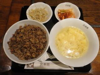 三幸園 - 焼肉丼