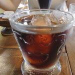 珈琲焙煎屋 ビーンズ香房 Cafe Tasse - アイスコーヒー