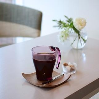 自慢のコーヒーと紅茶