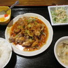 台湾料理 福味 - 料理写真:大満足セット 油淋鶏 680円