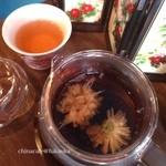 china cafe - ダイエットに最適!菊花プーアル茶