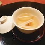 にくの匠 三芳 - 出汁 ウドと梅