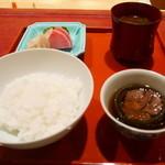 にくの匠 三芳 - お食事