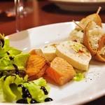 Italia Wine & Bar Cla' - サーモン3種盛り