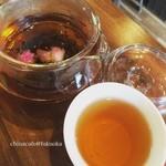 china cafe - リラックスしたいときに!バラ紅茶