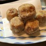 割烹 ゆう介 - 小芋天ぷら