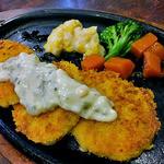 洋食の店 キッチンK - カニクリームコロッケ(2016年4月)