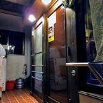 洋食の店 キッチンK - 2階の入り口(2016年4月)