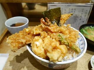 日本橋 天丼 金子半之助 本店 - 江戸前天丼¥950