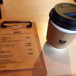 ドングリー コーヒースタンドと暮らしの道具店 - (2016.4月)大山崎COFFEE ROASTERSの天王山コーヒー(コスタリカ) 税込400円