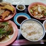 線條手打餃子専門店 - 定食Bセット