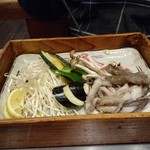 Takarabune - 2016年4月ペアセットの鉄板焼き
