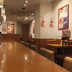 天丼てんや - 店内(2016年3月)