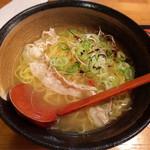 かど家 - 京風鯛塩らーめん750円