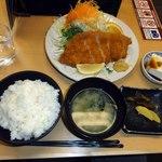 49445593 - ロースカツ定食