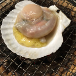 漁屋 - 漁師焼き(帆立)
