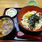 武蔵庵 - 肉汁うどん